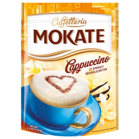 Vanilla Instant Cappuccino Mix 3.9 oz Bag