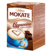 Chocolate Instant Cappuccino Mix Packets, 10 Sachets