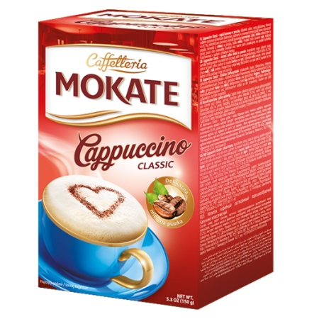 Classic Instant Cappuccino Mix Packets, 10 Sachets